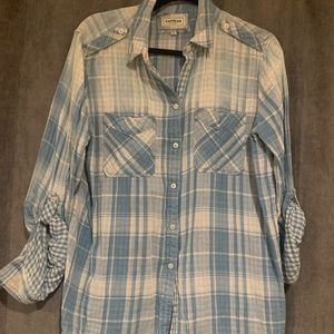 💙Express plaid flannel 💙